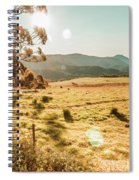Meadows And Mountains Spiral Notebook
