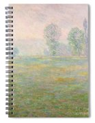 Meadows In Giverny Spiral Notebook