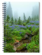 Meadows In The Mist Spiral Notebook