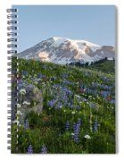 Meadows Of Glory Spiral Notebook