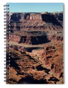 Meander Overlook - Dead Horse Point - Panorama Spiral Notebook