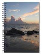Meandering Light Spiral Notebook
