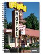 Mecca Motel Spiral Notebook