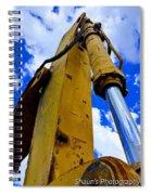 Mechanical Arm Spiral Notebook