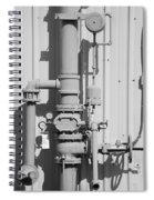 Mechanical Doo Dad Spiral Notebook