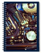 Mechanism Spiral Notebook
