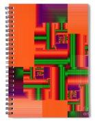 Mechanisms Spiral Notebook