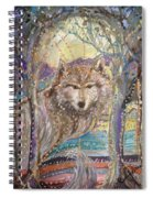 Medeina, Power And Strength Of The Forest Spiral Notebook