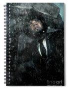 Media Storm Spiral Notebook