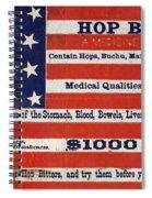 Medicine: Cough Cure Spiral Notebook