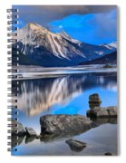 Medicine Lake Spiral Notebook