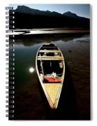 Medicine Lake In Jasper National Park Spiral Notebook