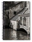 Medieval Architecture Of Bruges Spiral Notebook
