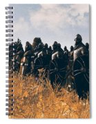 Medieval Army In Battle - 04 Spiral Notebook