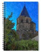 Medieval Bell Tower 1 Spiral Notebook