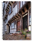Medieval British Architecture - Dick Turpin's Cottage Thaxted Spiral Notebook