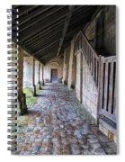 Medieval Church Entrance Spiral Notebook