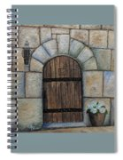 Medieval Door Spiral Notebook