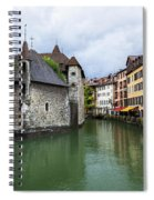 Medieval Jail In Annecy Spiral Notebook