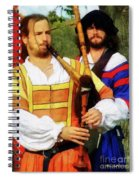 Medieval Minstrels Spiral Notebook