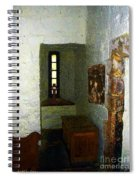 Medieval Monastic Cell Spiral Notebook