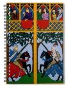 Medieval Scene Spiral Notebook