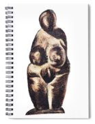 medieval Venus - fertility symbol Spiral Notebook