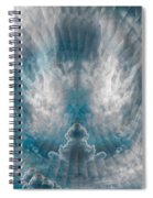Meditating Cloud - 2 Spiral Notebook