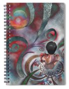 Meditating Life Universe And Beyond Spiral Notebook