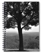 Meditation Tree  Spiral Notebook