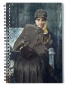Meditation,  William Merritt Chase American, 1849-1916 1886 Spiral Notebook