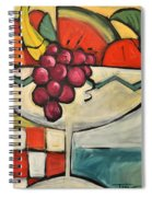 Mediterranean Fruit Cocktail Spiral Notebook
