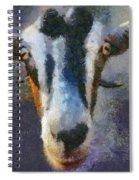 Mediterranean Goat Spiral Notebook