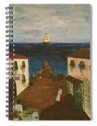 Mediterranean Spiral Notebook