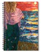 Mediterranean Sunset Spiral Notebook