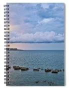 Mediterranean View II Spiral Notebook