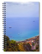 Mediterranean View Spiral Notebook