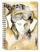 Meditrina Goddess Of Wine Spiral Notebook