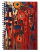 Meet Me In My Garden Dreams Part C Spiral Notebook