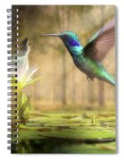 Meeting Mother Nature Spiral Notebook