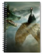Meeting Of Souls  Spiral Notebook