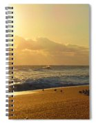 Meeting With The Sun Spiral Notebook