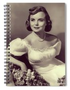 Meg Randall, Vintage Actress Spiral Notebook