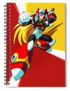 Mega Man X Spiral Notebook