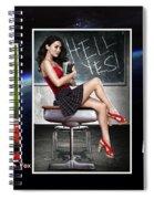 Megan Fox Spiral Notebook