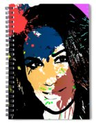 Meghan Markle Pop Art Spiral Notebook