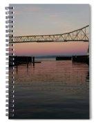 Megler Sunset Spiral Notebook