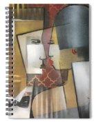 Meine Frau Und Ich Spiral Notebook
