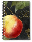 Melange Peach Peche Spiral Notebook