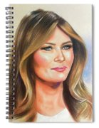 Melania Trump Spiral Notebook